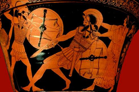 Σε σχέση με άλλες της ιδίας περιόδου, η αρχαία ελληνική ποίηση έδωσε ασυνήθιστα μεγάλη σημασία στο άτομο. Οι περιγραφές χαρακτήρων (π.χ. στα ομηρικά έπη) γίνονται με έμφαση στη λεπτομέρεια, τόσο ως προς την περιγραφή των εμφανισιακών γνωρισμάτων τους, όσο και των σκέψεων, των συναισθημάτων και των  αντιδράσεών τους. Σε έπη άλλων αρχαίων λαών, τα πρόσωπα απλώς σκιαγραφούνται και παραμένουν σκιώδη.