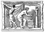Priapus-Statue