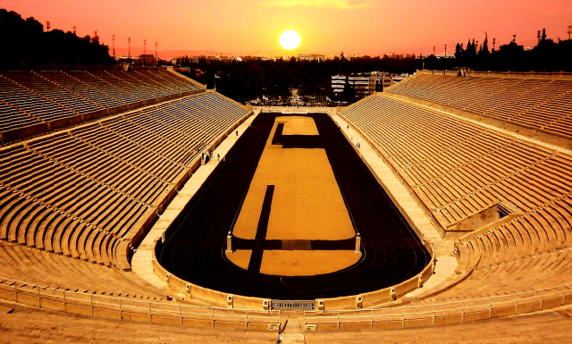 Panathinaiko Stadium - Olympic Myths - Peter Crawford