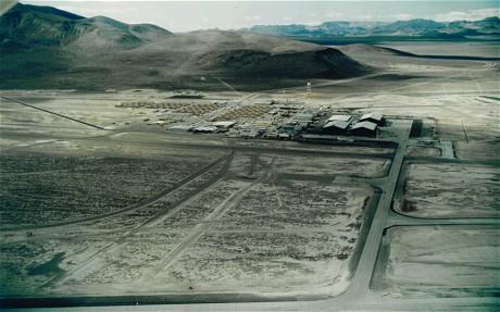 Μια σπάνια οπτική της περιοχής 51 (Nevada Aerospace Hall of Fame)