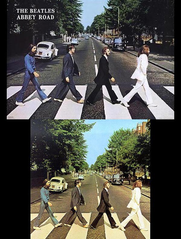 Οι Αμερικανοί  εκδότες αποφάσισαν να αφαιρέσουν το τσιγάρο από το δεξί χέρι του paul χωρίς να πάρουν την άδεια από τον ίδιο ή την Apple Records, που  κατέχει τα δικαιώματα της φωτογραφίας.