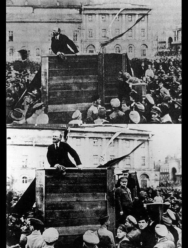 Ο Leon Trotsky και ο Lev Kamenev εξαφανίζονται! Επειδή ήταν αντίπαλοί του ο Στάλιν τους έσβησε ακόμα κι από τις φωτογραφίες.