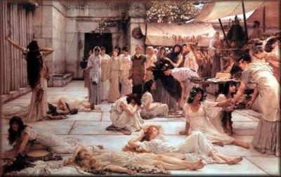 Οι κόρες του Βασιλιά Θέσπιου.